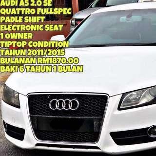 AUDI A5 TFSI SE 2.0 QUATTRO