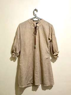 Bangkok Brown Dress (Unbranded - Never worn)