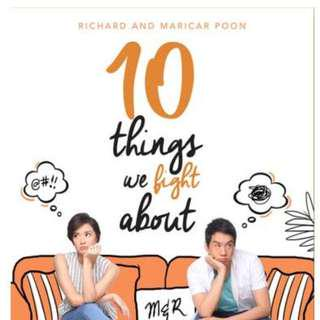 10 Things We Fight About by Richard and Maricar Poon