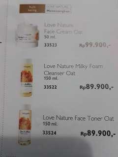 Love nature oat