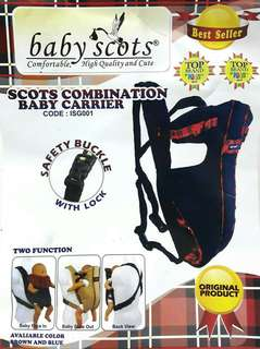 Gendongan Baby Scots