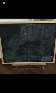 A2 Blackboard and stand