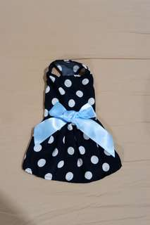 Puppy dress with bow