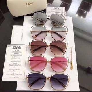 Chloe ysl Chanel Gucci miumiu jimmychoo sunglasses 太陽眼鏡