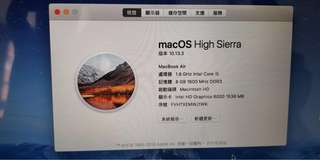 2017 macbook air  13吋 I5處理器 極新