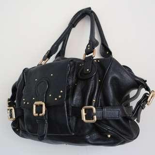 Authentic Chloé padding ton bag in black