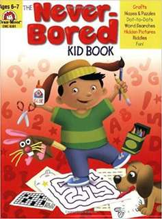 Never Bored Kid Book Set Book 1&2