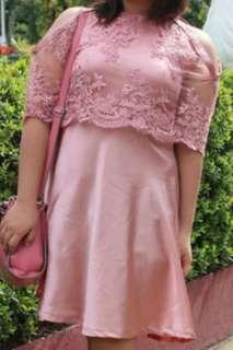 Formal rose gold Dress