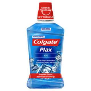 Colgate Plax Ice mouth wash 1 litre QYOP. pic dun show actual item