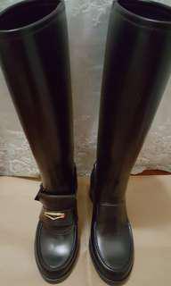 最型雨靴 100% REAL Ferragamo rain boots Size 36