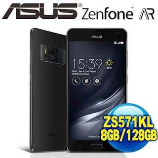 🚚 華碩 擴增實境旗艦機 ZenFone AR ZS571KL 8G/128G 5.7吋 2300萬畫素 三鏡頭 公司貨