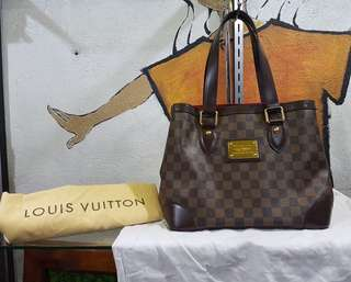 Authentic Louis Vuitton Hampstead Damier Pm