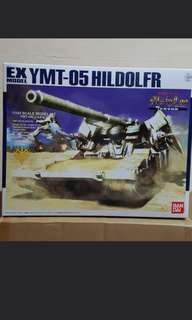 EX Model 1/144 Hildolfr YMT-05 from MS Igloo Gundam + HG Zaku