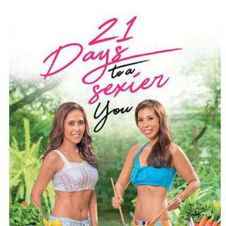 Sexy Chef 21 Days To A Sexier You by Rachel Alejandro and Chef Barni Alejandro