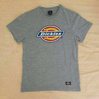 Dickies經典logo短袖 灰色