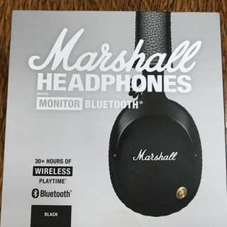 全新 Marshall Monitor Bluetooth