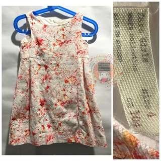Zara Girls Jacquard Dress