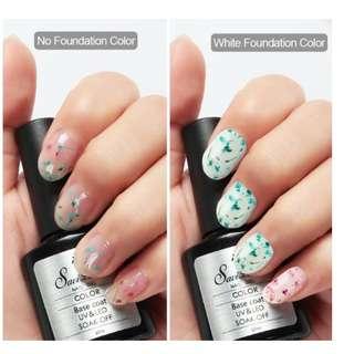 Foral Gel nail polish (Dried flower)