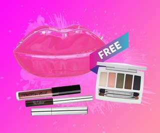 🚚 POWER POUT GLAM MAKEUP SET