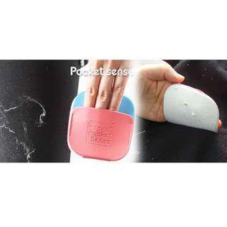 [韓國Pocket Sense粘毛神器] 強力黏性,輕鬆快速清除衣服上灰塵和毛髮,用清水直接沖洗重複使用