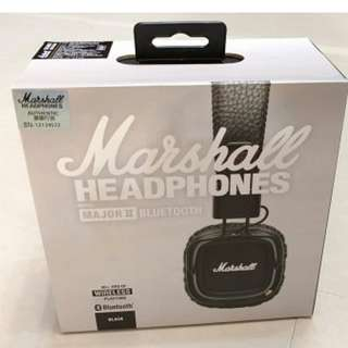 Marshall Major II Bluetooth (black)