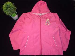 Hooded Jacket (Hot Pink)