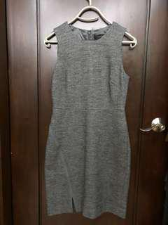 J Crew Gray Casual Office Dress