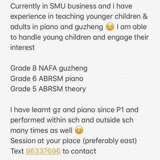 Guzheng & piano