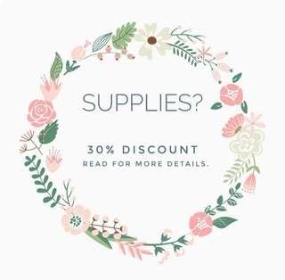 Supplies? 🎈