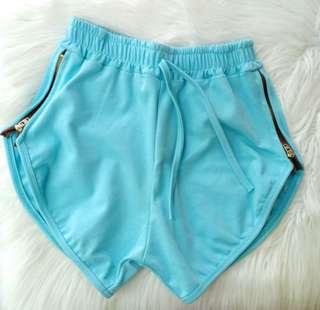 New zipper highwaisted shorts