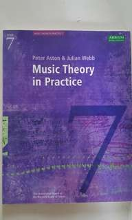 Grade 7 Music Theory in Practice