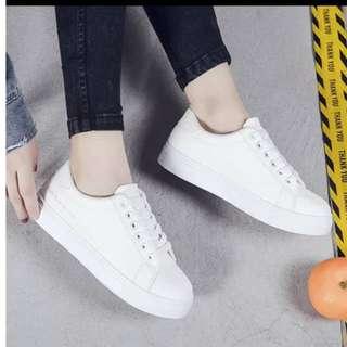 White Basic Sneakers