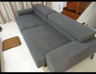 Wide & long high end sofa