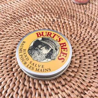 Burts bees hand salve • moisturizer