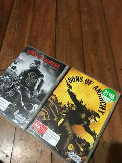 Sons of anarchy seasons 1 & 2