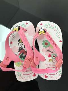 Brand New Authentic Havaianas Minnie Mouse Sandals