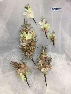 Bridal preserved flower Hair Accessories( real flower)