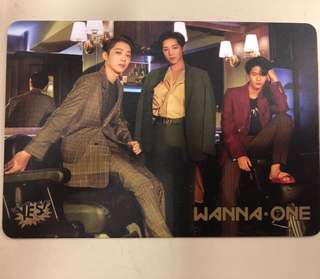 Wanna One YesCard