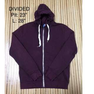 Sweater DIVIDED Maroon