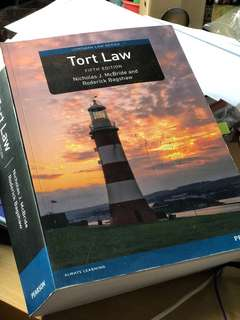 Tort Law by McBride and Bagshaw (5th Ed)