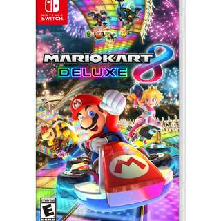 [WTB] Mario Kart 8 Deluxe (EMPTY BOX ONLY)