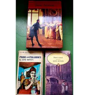 Jane Austen Books (bundle)