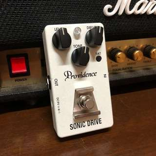 Providence Sonic Drive Overdrive Pedal Japan (used)