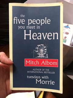 The five people you meet in heaven by Mitch Album