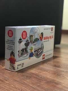 Limited Edition Build My SG Lego SG50 Commemorative Set