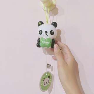 全新小熊貓風鈴