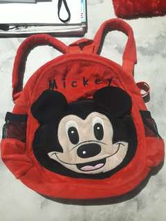 Preloved Mickey Mouse Small Backpack