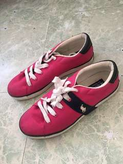Pink polo ralph lauren shoes