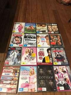 $1 DVD's