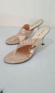 Brown sandals rusty lopez